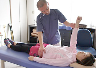徒手検査と筋力検査のイメージ